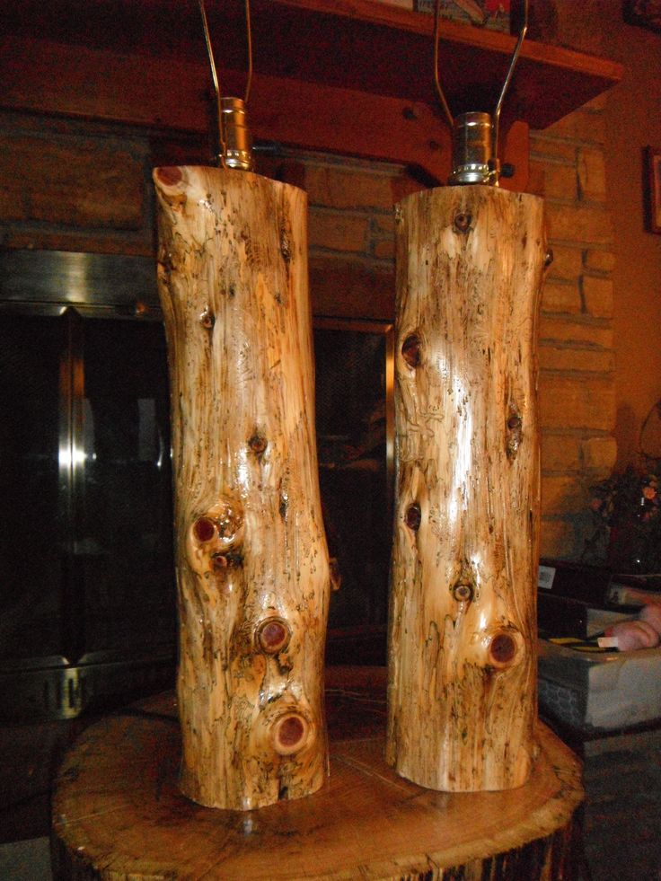 Cedar Log Lamps, For More Pics And Info Please Visit  Www.facebook.com/philswildwoodcreations | Wild Wood Creations | Pinterest |  Logs, Log Furniture And ...
