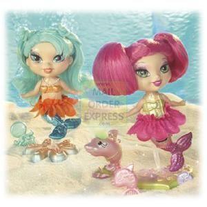 Mattel Barbie Mermaidia Merfairy Pink and Blue Hair