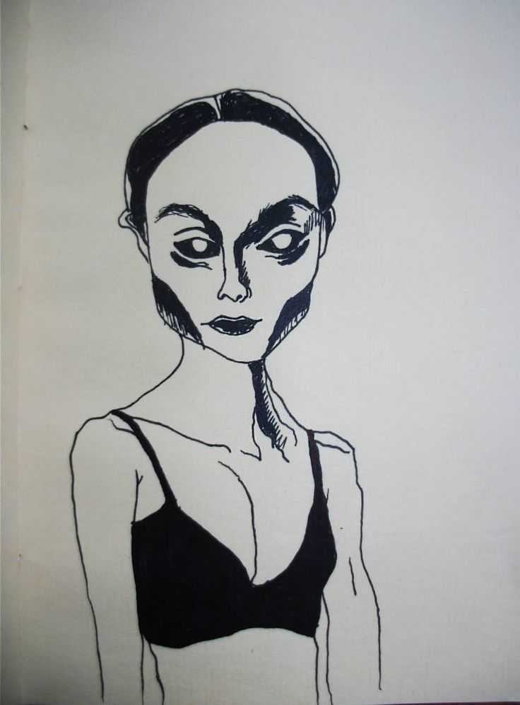 Buy essence of black dimension, a Ink on Paper by Gella Goring from Russia. It portrays: Women, relevant to: black, skinny, woman, creepy, demon, devil, linework, evil, girl, goth, line, model Have you ever feel the huge sorrow? Something black and frightening . I bet that spirit of black hole look like this