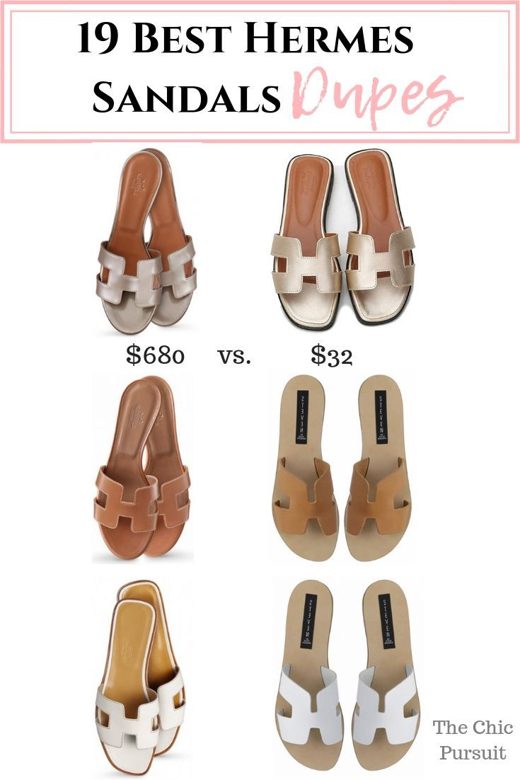 91243ad3024 The Best Hermes Sandals Look Alikes (From $32!) | Budget Fashion ...