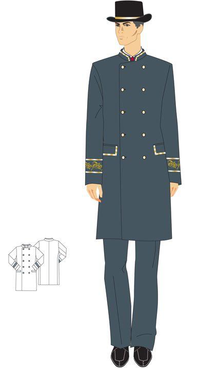doorman uniform - Google Search