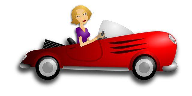 Бесплатное изображение на Pixabay - Автомобиль, Женщина, Блондинка