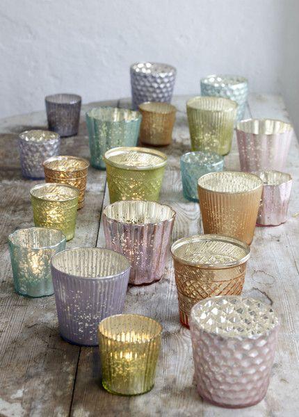 las velas en decoración - vasitos de vela  #shopnordico