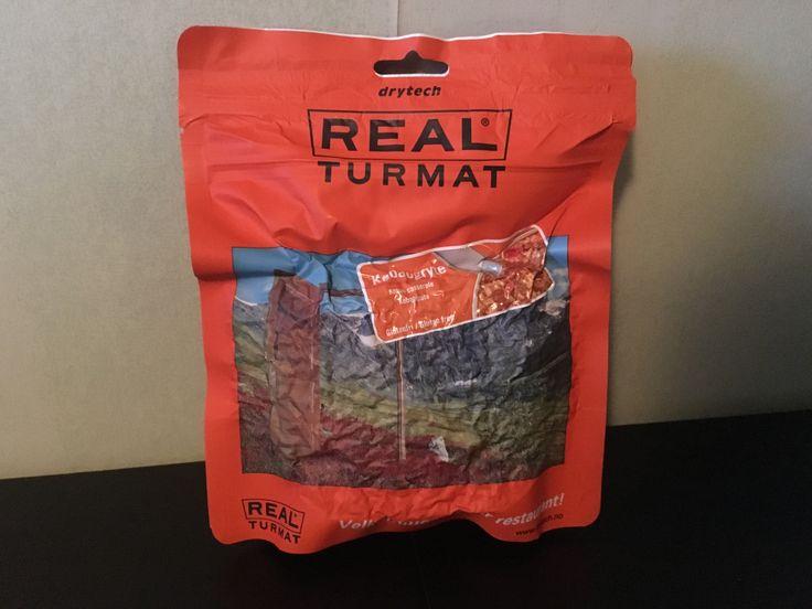 Produkt: Frystorkad mat, Kebab och Kyckling Leverantör: Real Turmat. Inhandlat på XXL Pris: 89:00/st
