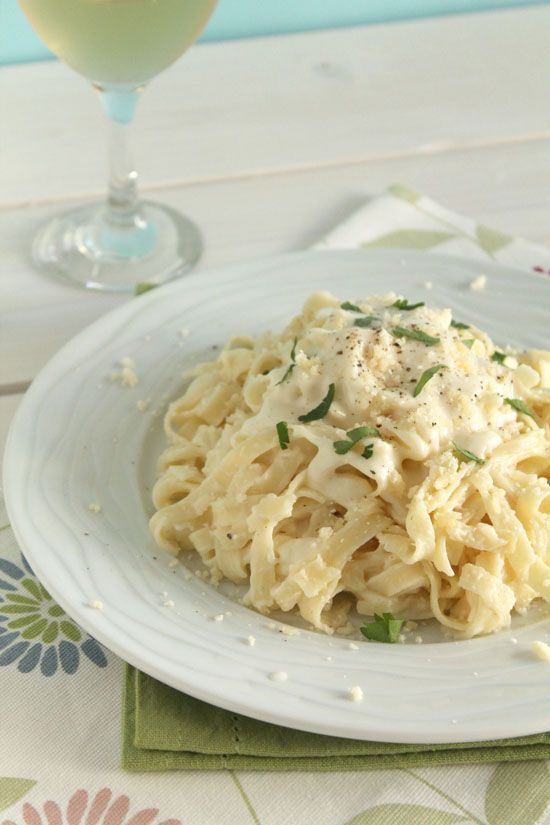 Mascarpone and Parmesan tagliatelle