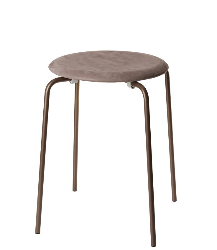Dot stool Nubuck leather special edition