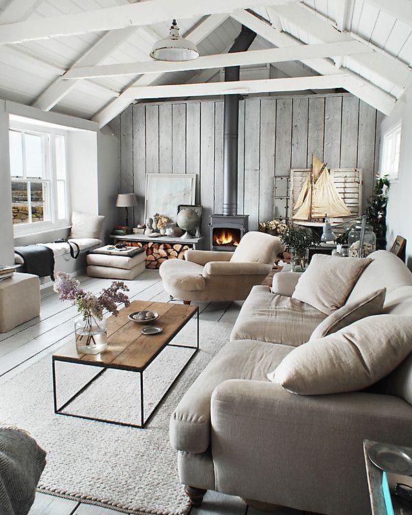 Room Crush: Serene Gray Living Room