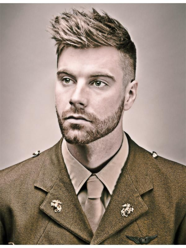 2014 Men's Hairstylist/Coiffeur pour Hommes Contessa Winner: Matthew Conrad from Victory Barber & Brand, Victoria, BC