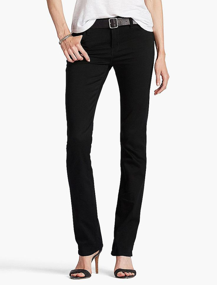 Lucky Brand Brooke Boot Womens Bootcut Jeans - Black Amber (27x32)