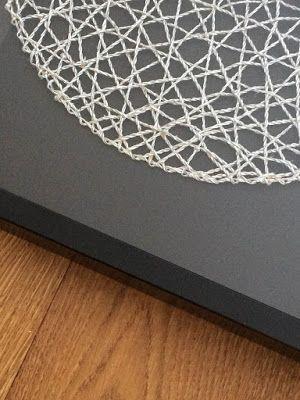 Dekoracja z podkładki na stół
