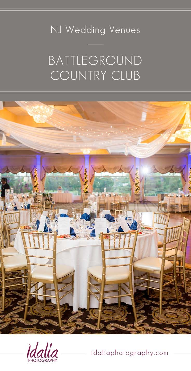 Battleground Country Club Is A Nj Wedding Venue Located In Monmouth County The Town Of Mapan