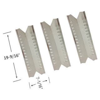 Grillpartszone- Grill Parts Store Canada - Get BBQ Parts,Grill Parts Canada: Heat Shield For Master Forge | Replacement 3 Pack ...