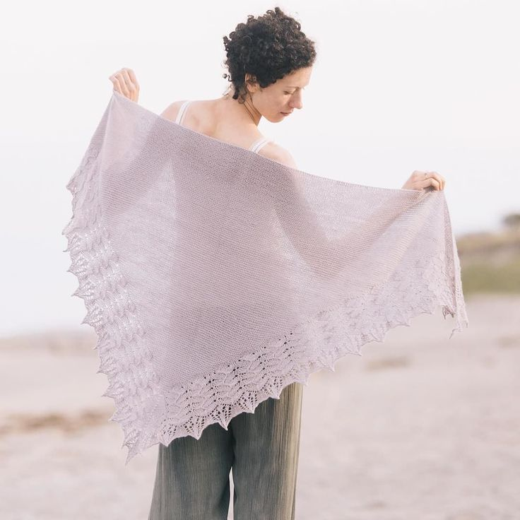 Here's Vignette today's new release for Shawls 2017. Designed by Paulina Popiolek and knitted in Piper this pretty thing is just about perfect. See full details and our other patterns out this week from the Shawls 2017 collection through our profile link. #quincepiper #shawls2017 #quinceandco