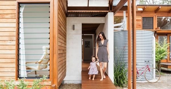 'Kids love to interact with this house – it captures their imagination. It feels a bit like a cubbyhouse and has a playful nature.' Anthony