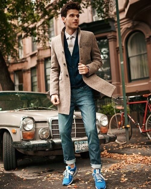 Great denim (such as Noble Denim) and sneakers can be a classy combination when properly executed.