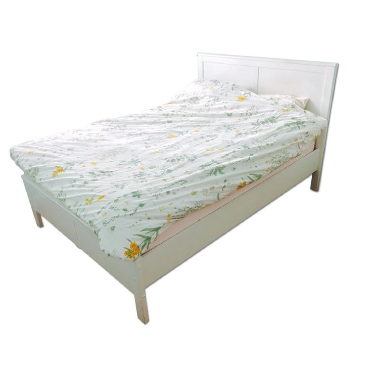 ikea hemnes white queen painted queen bed frame - Queen Bed Frame White