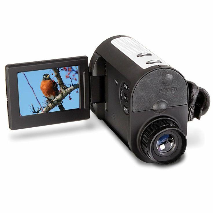 The HD Video Recording Monocular - Hammacher Schlemmer