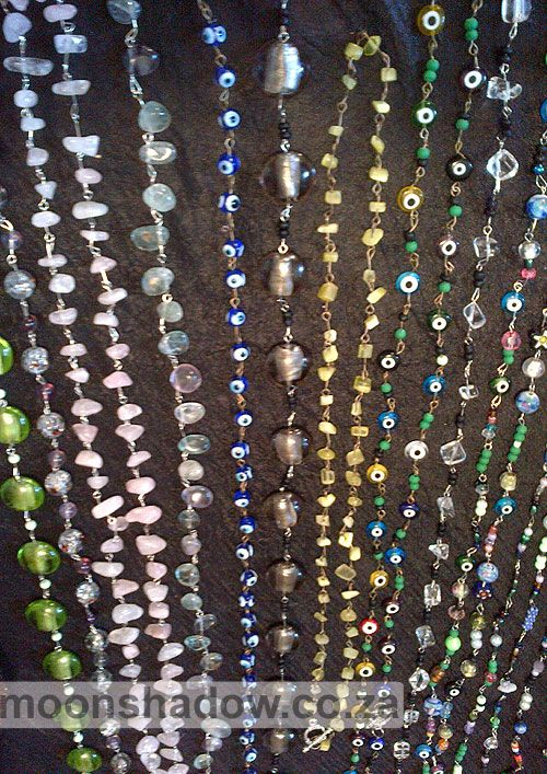 Beaded Necklaces - various designs all #handcrafted in #Moonshadow's Studio. #Swellendam  #SouthAfrica