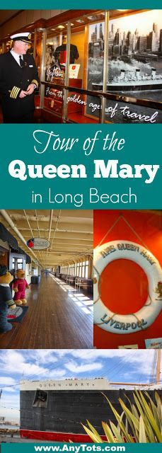 Looking for fun things to do in Los Angeles or Want to Tour the Queen Mary? We went on an exclusive Queen Mary Tour in Long Beach. Check out all the photos and important details about touring the Queen Mary. www.anytots.com for more travel tips as well.