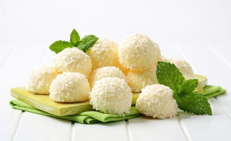 Suaves bombones de coco y limón - Notas - La Bioguía