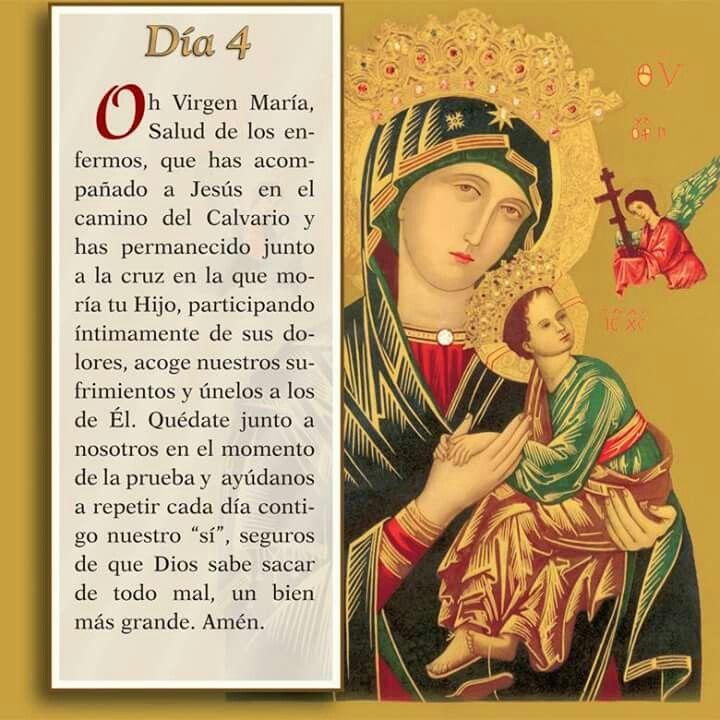 Oración día 4, Mayo mes de Maria