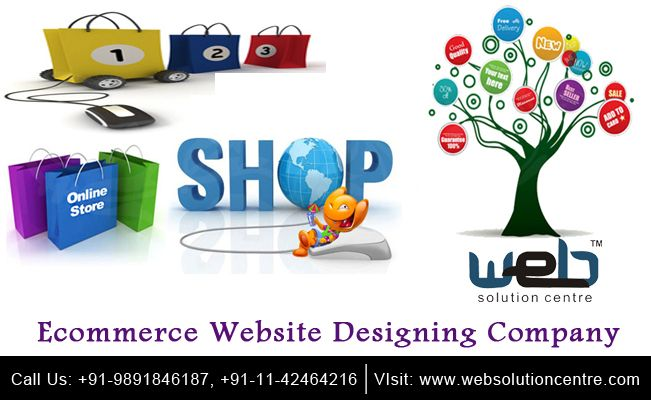 #Ecommerce Website Designing Company | If you are planning to run an online business, then an ecommerce website is a must. Web Solution Centre is a leading #EcommerceWebsite #Designing Company that develops #websites keeping in mind #design, features and most importantly, functionality.