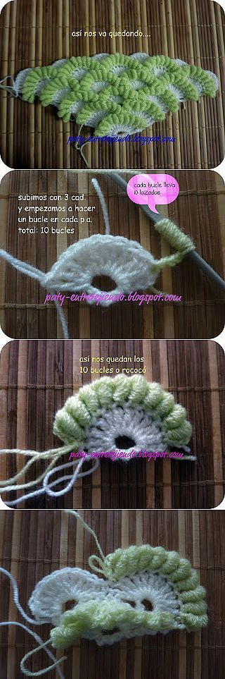 modeles du net-- les points au crochet - crochet d'amour