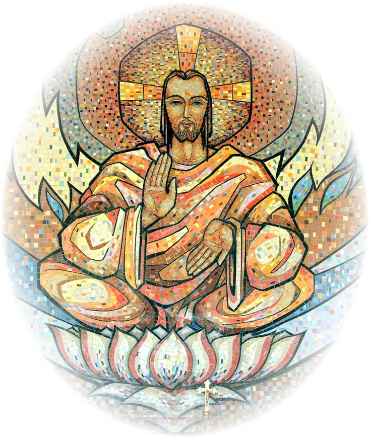 ∆ Enlighten...Christ Conciousness - LOVE - (notice the hands, as above so below.)