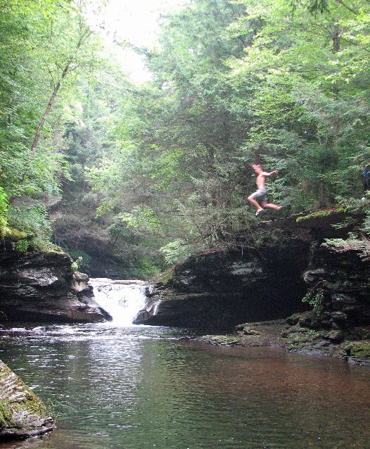 """Rock Run, Lycoming County, PA.  Prettiest Stream in Pennslyvania - Lancaster Online:  """"Backpacker magazine has gone as far as to say this Rock Run north of Williamsport in Loyalsock State Forest has some of the best swimming holes in the entire United States."""""""