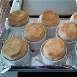 """Mini Chicken Pot Pies 