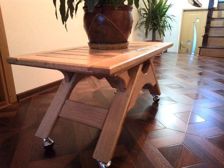 Coffee table Oak2