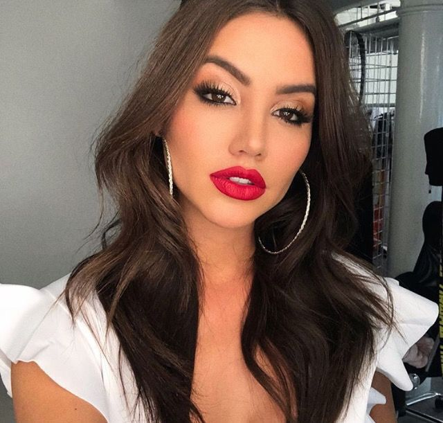 Pinterest Xokikiiii Red Lips Makeup Look Red Lip