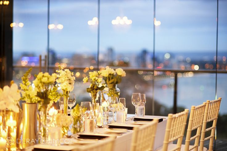 Romantic wedding reception styling, ideas and inspiration. Reception Venue: State Reception Centre Perth  Photography by DeRay & Simcoe