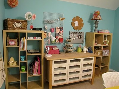 101 best studio and craft room images on pinterest for Ikea craft room furniture