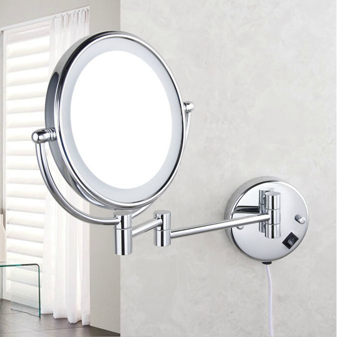 Photography Gallery Sites Professional makeup mirror with light Inch led pact cosmetic mirror lady us X Double Sided magnifying