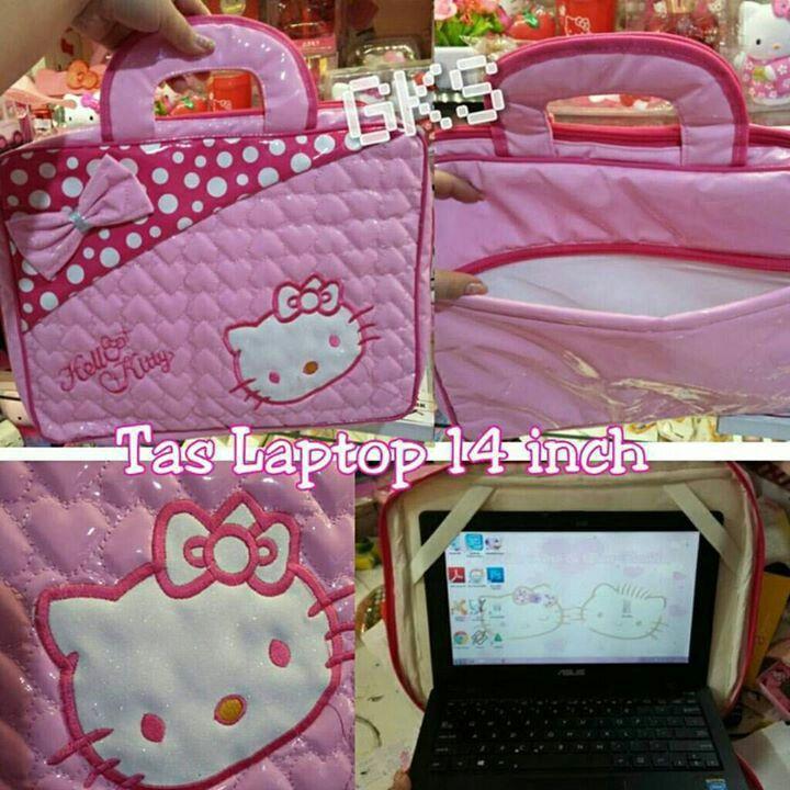 """#tas #laptop #hellokitty 14"""" @ 85.000"""