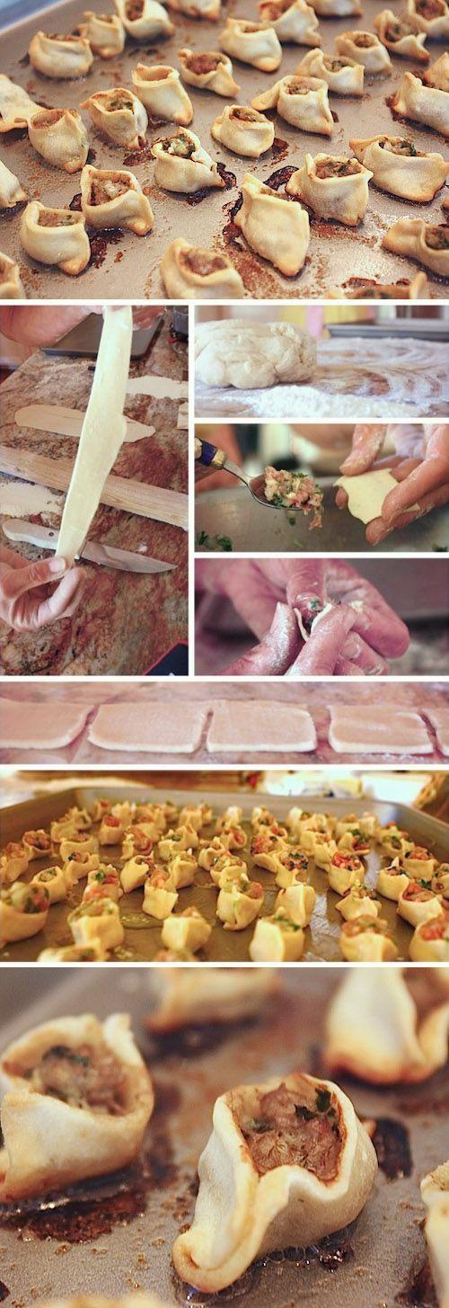 Manti recipe with instructional photos #armenianfood