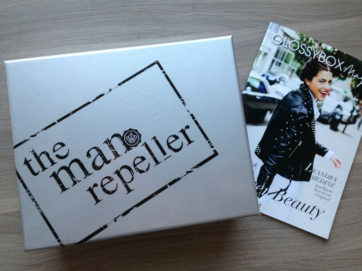 Man Repeller Glossy Box Review - January 2013 - Monthly Makeup Subscription Service