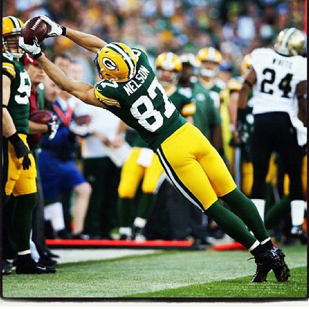 Feed Me Nfl: Green Bay Packers...this Catch!! Many