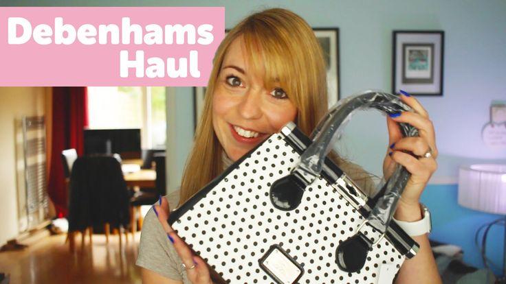 Jen's Debenhams Handbag & Pyjama Haul Video