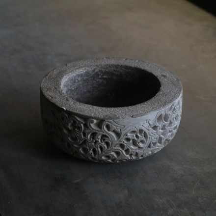 Do you or your friend always forget where you left your keys? Park them in this elegant cement carved mortar. It's only $29, but sure to last a lifetime. Discover the PERFECT gifts at http://www.teakwarehouse.com/teak/product/carved-mortar/.