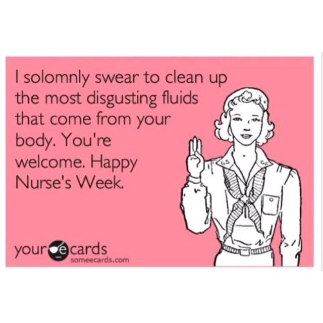 Happy Nurses Week :)