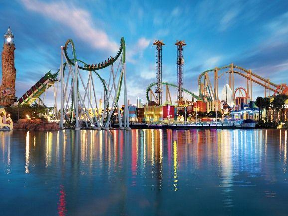 Universal Studios Orlando/Islands of Adventure at Universal Orlando, FL