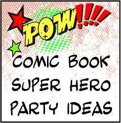Are you looking for party ideas and resources to create one of those vintage comic book style parties? You know the Roy Lichtenstein, kind of...