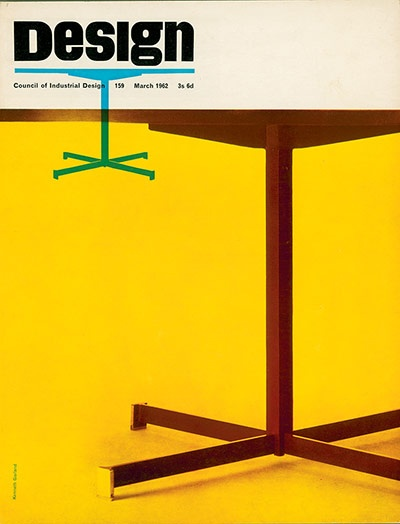 Design  Ken Garland  The March 1962 issue is one of British art director Ken Garland's strikingly simple covers: bold photographic images are dramatically cropped and repeated for ultra-contemporary effect. The masthead, introduced in January 1962, would remain untouched for 25 years – a testament to Garland's enduring contribution