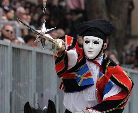 Sa Sartiglia, Oristano's carnival - Sardinia