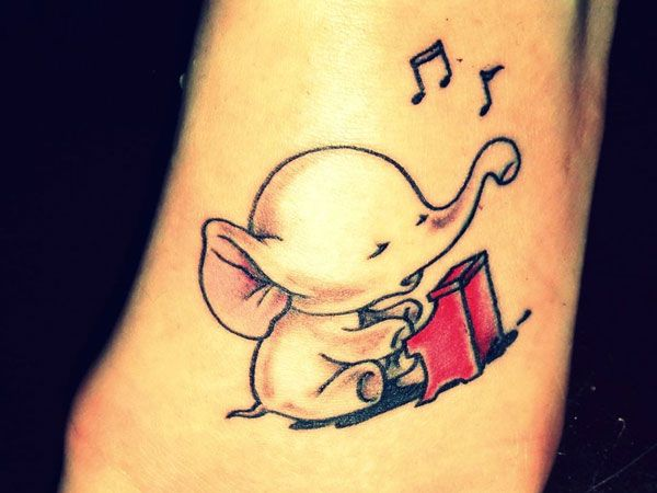 Music Time Elephant; This is just the cutest thing!