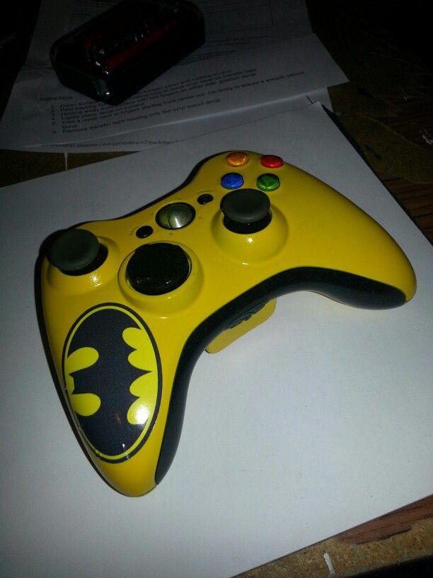 Custom batman xbox 360 controller