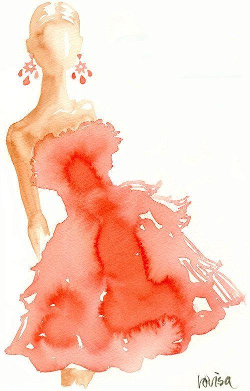 Oscar de la Renta #fashion #sketch