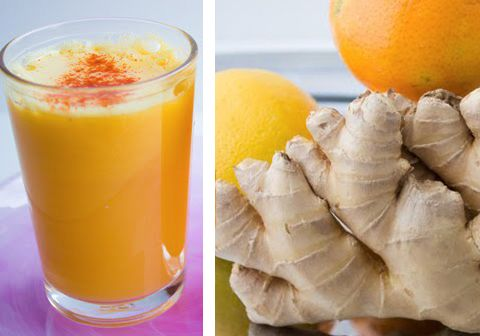 The Citrus Kicker - orange, apple, lemon, ginger juice